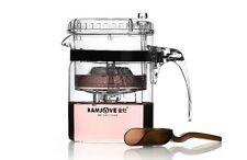 300ml Kamjove Glass Gongfu Tea Maker Press Art Tea Cup Pot Teapot Infuser TP-140