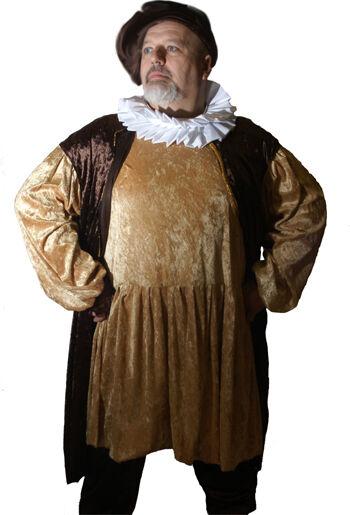 Célébrez les voeux du du du Nouvel An Médiéval / larp médiévale Henry V111 Costume toutes tailles xxx 61bc13