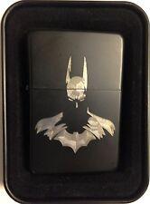 Batman Arkham Black Gift Engraved Cigarette Lighter Biker Gift LEN-0058