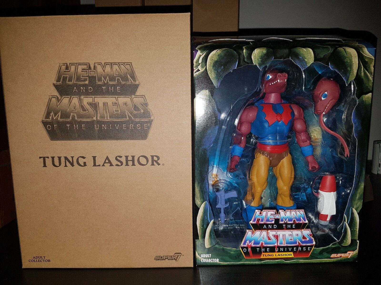 Masters Of The Universe MOTU Classic Super 7 Tung Lashor He-man Wave 2