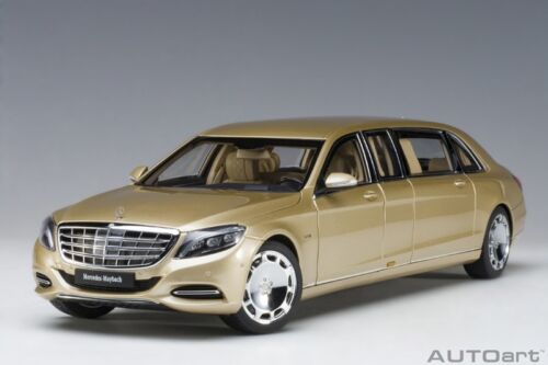 2016 Autoart 76298-1//18 Mercedes Maybach S600 Pullman Neu - Gold