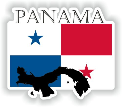 Sticker of Panama Decal for Bumper Travel Car Laptop Tablet Suitcase Hollidays