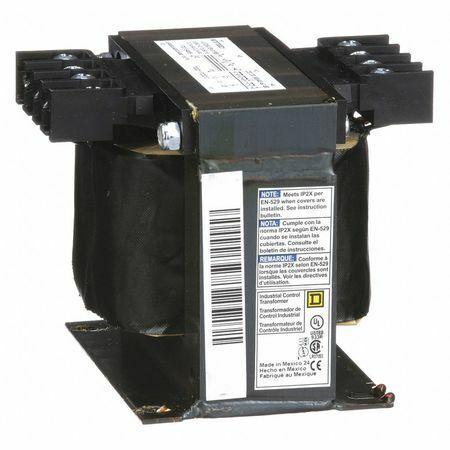 H Square D By Schneider Electric 9070T300D1 Control Transformer,300VA,3.80 In