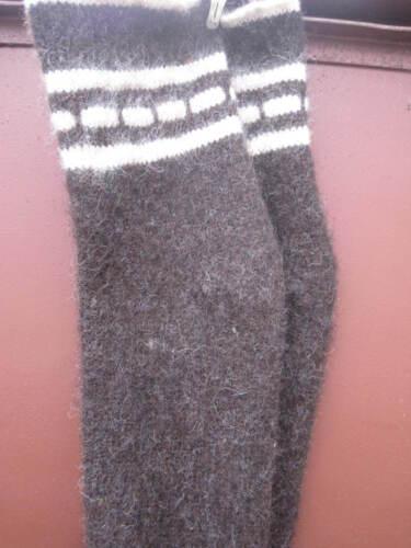 Socks LEG WARMERS SUPER long hunting fishing natural sheep wool Russian craft