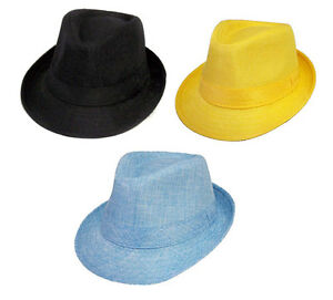 Kids Fedora Trilby Hats In Color 1Pc or 6Pc Lot ( FedHatK2   )  1bdc26c4e1b6