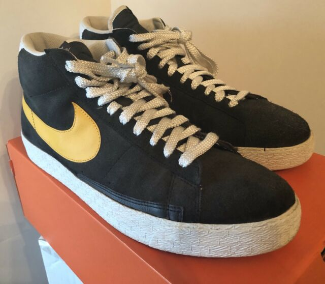 Nike Blazer High 315877-071 Anthracite/Pro Gold- White sz 13 DS W
