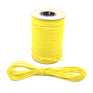 """1//4/"""" Yellow Shock Cord Marine Grade Bungee Heavy Duty Tie Down Stretch Rope Band"""