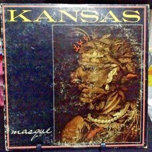 KANSAS-Masque-Album-Released-1975-Vinyl-Record-Collection-US-pressed