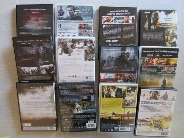 In the Presence of mine enemies + 11 andre, DVD, drama