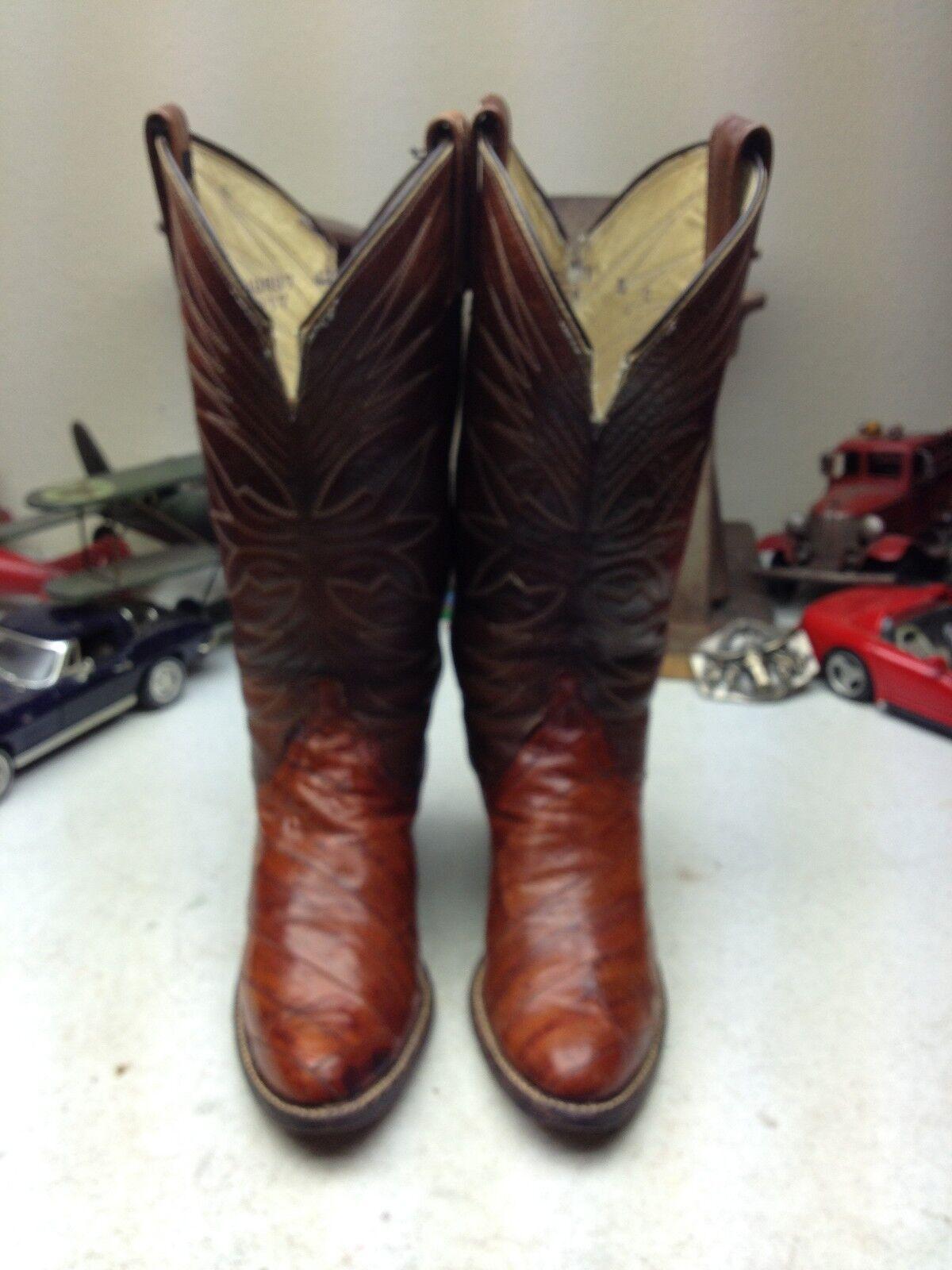 EE. UU. dan Post Post Post Anguila Oeste Rodeo Rancho danza occidental de cuero botas de Vaquero 5 C  promociones emocionantes