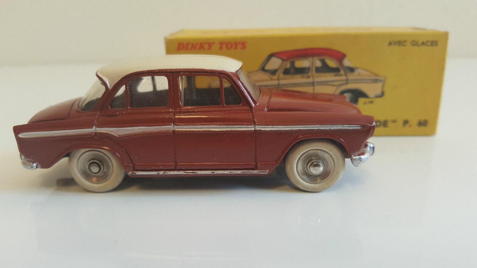 Dinky Toys - 544 - Simca Aronde P60 (Jantes concaves) en boîte d'origine VN Mib