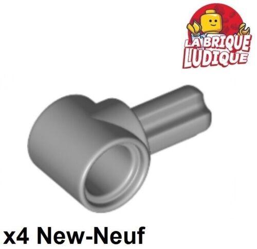 Lego technic 4x Axe Axle connector Hub 1 gris//light bluish gray 22961 NEUF