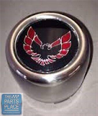 1976-80 Firebird Trans Am Stainless Snowflake Center Caps Red Each # 619