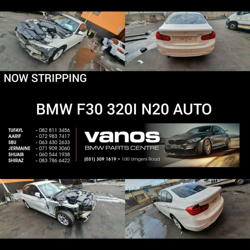 BMW 320i F30 AUTO STRIIPING FOR SPARES
