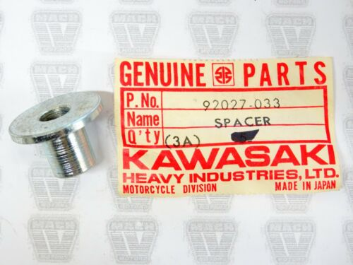 Kawasaki NOS NEW 92027-033 Front Fuel Tank Spacer H1 A1 A7 F4 F21M G3 1971-86