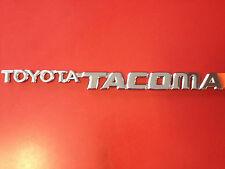 GENUINE TOYOTA TACOMA(95-04) 2PC FRONT DOOR PLATE BADGES EMBLEM (75473-04010) x2