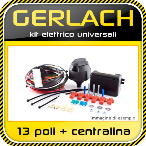 kit elettrico 13 poli centralina universali con funzione di carica batteria WH