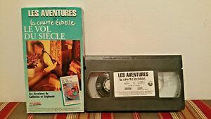 Les-aventures-de-la-courte-echelle-volume-3-vhs-FRENCH-tape-amp-sleeve