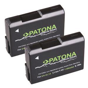 2-x-Patona-Premium-Akku-f-Nikon-CoolPix-P7000-P7100-P7700-P7800-EN-EL14