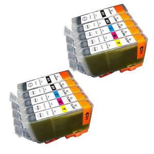 10-PK-INK-NON-OEM-CANON-PGI-5-CLI-8-IP3300-IP3500-IP4200-IP4300-IP4500-IP5200