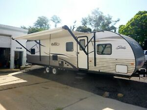 2014 30ft Shasta Oasis 30QB  BUNK OUSE NO RESERVE