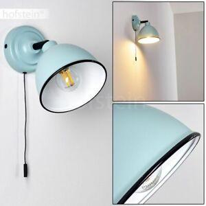 Flur Wand Leuchte Schalter verstellbar Retro Wohn Schlaf Raum Lampe Licht Effekt