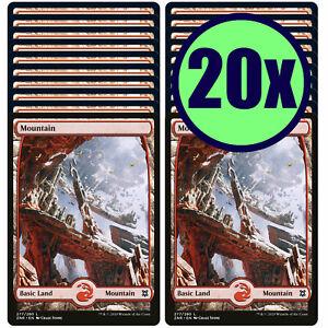 20x MOUNTAIN 277 Full Art Basic Land NM/LP MTG Magic Gathering Zendikar Rising