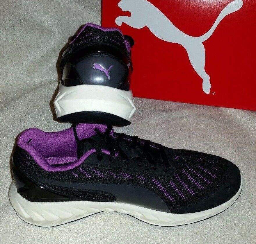 PUMA IGNITE ULTIMATE ULTIMATE IGNITE Femme TRAINERS / Baskets noir / Violet 5  110 38ac74