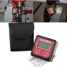 Digital Clinómetro Spirit Nivel Transportador Medidor Angulos Meter Bevel Rojo