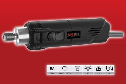 Frässpindel AMB 800 Watt 230V 10.000-29.000 U/min HF Spindel Fräsmotor wie Kress