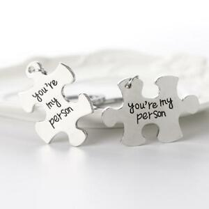 Silvery-Metal-Keychains-Puzzle-You-039-re-My-Person-Lover-Couples-Gifts-Keyring-K9D4