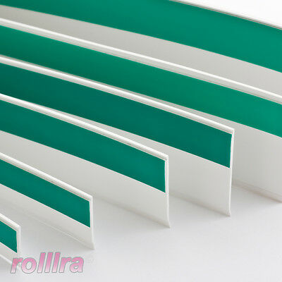 Flachleiste Kunststoffleiste Fensterleiste mit Gummilippe B: 60mm | L: 1m