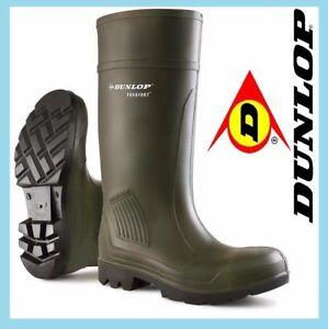 Boots Safety Wellies Tamaño Wellingtons Purofort 13 de Dunlop Green Welly 4 Full qEww8afAx