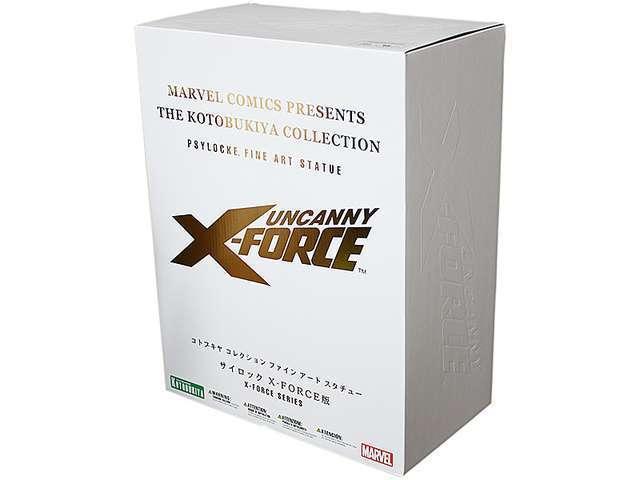 Nuevo Sello Kotobukiya Marvel Psylocke Uncanny X-Force Limitada Arte Fino estatua 1 6