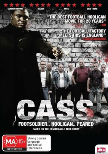 1 of 1 - Cass (DVD) ACTION Footsolider Hooligan Feared [Region 4] NEW/SEALED