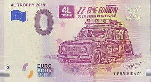 BILLET-0-EURO-4L-TROPHY-2019-22eme-EDITION-FRANCE-2019-1-NUMERO-RADAR-424