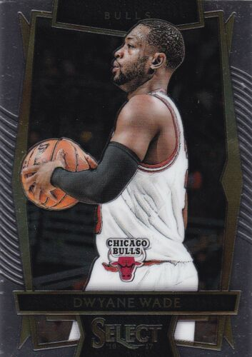2016-17 Panini Select baloncesto walker #93 dwyane Wade