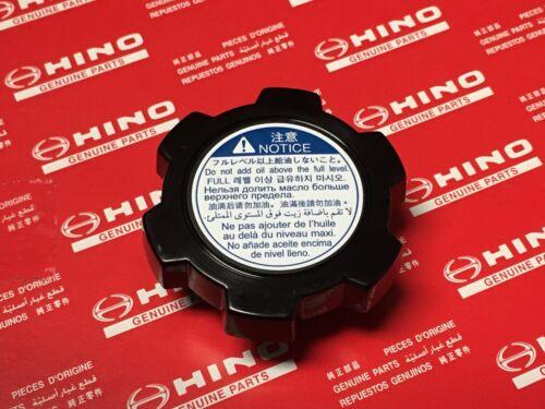 NEW OEM Hino Engine Oil filler Cap H07D J05C J05E J08C J08E N04C W06E