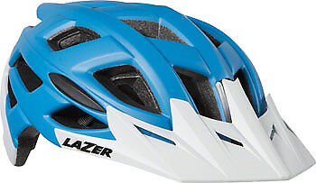 Lazer Ultrax+ Helmet  Matte bluee White, MD