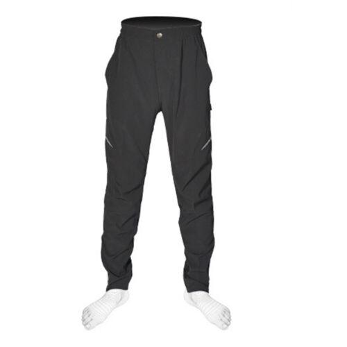 Mens Bike MTB Motor Thermal Fleece Winter Cycling Sportswear Waterproof Trousers