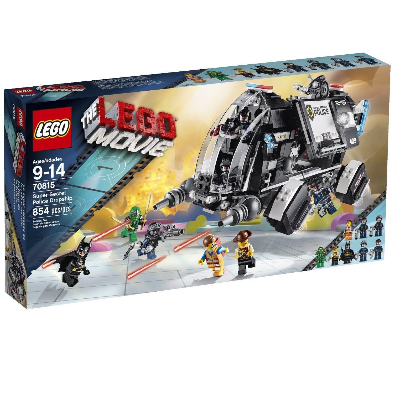 70815 SUPER SECRET POLICE DROPSHIP lego NEW movie SEALED misb legos set MISB