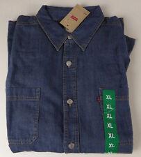 5d1e5fa6778 Levi s Long Sleeve Classic Denim Work Shirt Authentic Stonewash XL ...