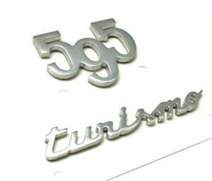 500 Abarth 595 Turismo Rear Badge Tailgate Trunk Badge Logo Emblem NEW GENUINE
