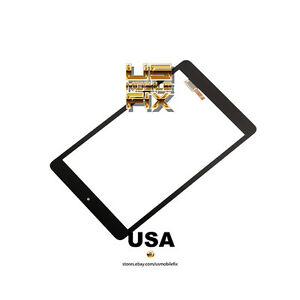 For AT&T Trek HD 9020A WIFI 4G LTE Touch Screen Digitizer Lens Part Black
