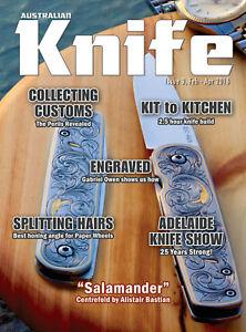 Australian Knife Magazine Issue 3, Feb-Apr 2018