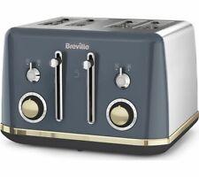BREVILLE Mostra VTT931 4-Slice Toaster - Grey - Currys