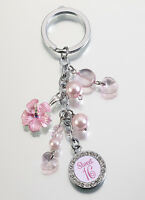 Sweet 16 Silver Plated Keychain Birthday Party Gift
