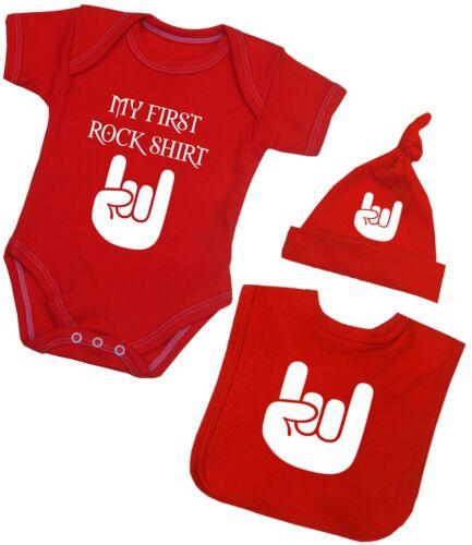 BabyPrem Babykleidung Erste Rock Hemd Satz Hut /& Lätzchen Baby Geschenk Set