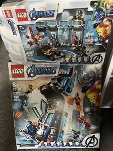 LEGO Avengers Tower Battle Super Heroes (76166)