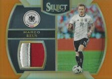 2016-17 PANINI SELECT SOCCER MARCO REUS TWO COLOR PLAYER WORN JERSEY CARD 23/75